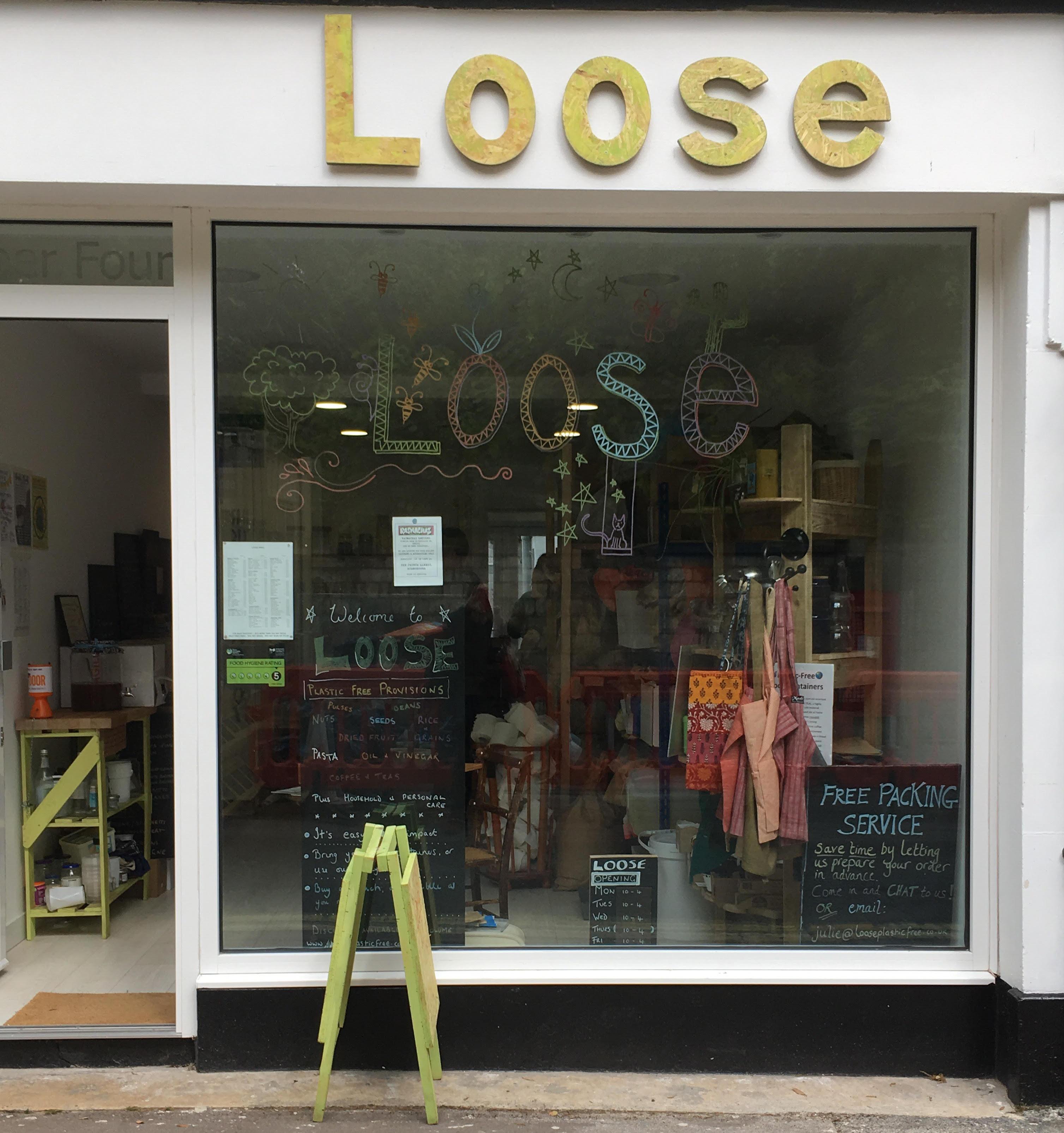 Loose Plastic Free Shop In Stroud Gloucestershire